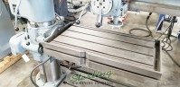 used fosdick radial arm drill with rotating table for angle drilling (heavy duty quality brand in excellent condition) Sensitive