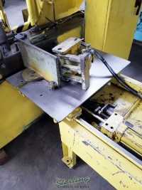 used w.f. wells automatic horizontal bandsaw (twin post design) F-15