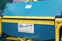 used chicago powered apron brake (heavy duty)