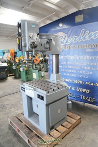 used rockwell articulating radial arm drilling & tapping machine EFI-3T