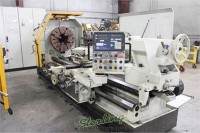 used eisen heavy duty hollow spindle gap bed engine lathe with double chuck and 10