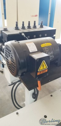 used p/a industries top roll straightener SS49