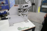 used (demo machinery) baileigh manually operated ironworker SW-22M