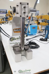 used (demo machinery) baileigh manually operated arbor press AP-5