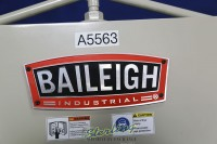 used (demo machinery) baileigh manually operated box & pan (finger) brake BB-4814