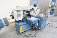 used (demo machinery) baileigh horizontal automatic metal cutting band saw with heavy duty bundling system BS-20A