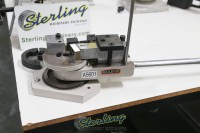 brand new baileigh manually operated universal bender for making radius bends, rings, spirals & angle bends MPB-15