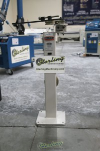 used (demo machinery) baileigh manually operated hand bender RDB-10