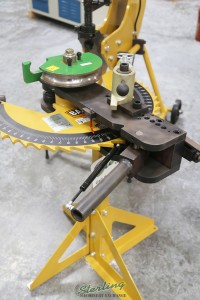 brand new baileigh manually operated tube & pipe bender RDB-100