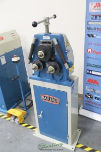 used (demo machinery) baileigh manual profile & pipe bender R-M10