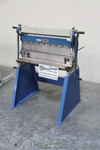brand new baileigh 3 in 1 combination shear, brake & roll SBR-4020