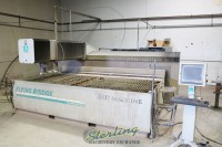 used flow cnc flying bridge waterjet cnc water jet with 60,000 psi (guaranteed by flow dealer) I-6012 Integrated Flying Bridge