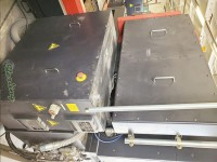 used amada cnc 3d or 2d nitrogen laser with dual table pallet system