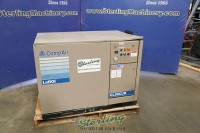 compair by leroi rotary screw air compressor with sound enclosure CL30