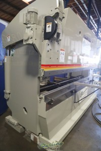 used accurpress hydraulic cnc press brake (3 axis cnc control)(includes cnc r-axis) 725012