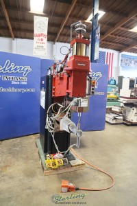 used janda press type spot welder PMC025