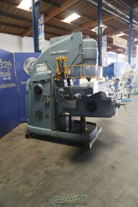 used cincinnati vertical heavy duty milling machine NO. 4 EP-1527