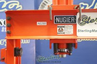 used nugier air over hydraulic operated h frame press H40-14 APBD
