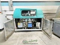 used flow cnc abrasive dual head waterjet cutting system with flow pc based flowmaster controller, 100hp 60,000 psi dual-intensifier pump, dual heads waterjet cutting system (guaranteed by flow dealer!) 4x2MWMC