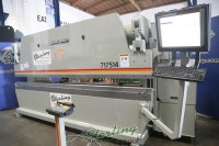 used accurpress cnc hydraulic press brake (3 axis cnc press brake including r axis) 717514