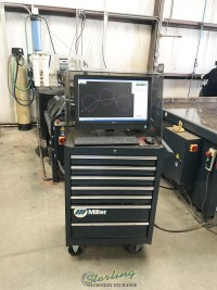 used omax cnc water jet cutting system