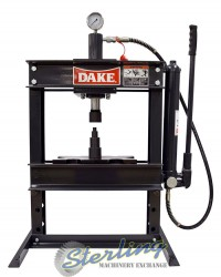 brand new dake utility h-frame manual press (bench mounted) B10