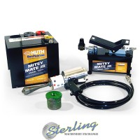brand new huth-ben pearson mitey mate jr. pneumatic expander with 3