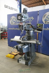 used lagun vertical milling machine with tooling FTV-2S