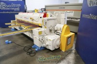 used wysong mechanical double end frame power shear 1025