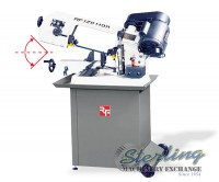 brand new rong fu (2 way swivel) horizontal bandsaw RF-128HDR