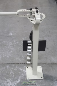 brand new baileigh manually operated compact flat bar bender MCB-650