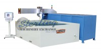 brand new baileigh 3-axis cnc water jet WJ-512CNC