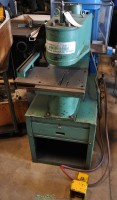 used unipunch air over hydraulic deep throat press 1012-UP