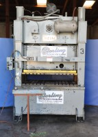 used heim straight side punch press S150