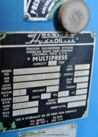 used denison hydraulic press R065MC20955D266A12