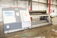 used cole-tuve hydraulic 4 plate roll machine ( located in texas ) 4RS-8-320