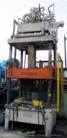 clearing hydraulic 4 post press H4C- 50- 48- 48