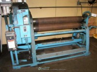 used lown initial pinch power roll B-600