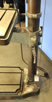 used boice crane floor drill press (geared) 24200