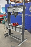 used dake h frame electric hydraulic press 75H