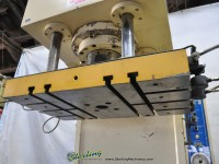 used sheng jse co. c frame hydraulic press SJ-100