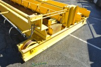 used 5 ton over riding double girder bridge crane TRDG5-40