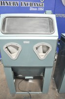 used guyson manual heavy duty production blasting cabinet Model #4