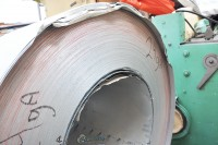 galvanized sheet metal roll ($0.18 per pound) 24 Ga.