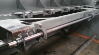 used htc hydraulic power squaring metal shear 250-10HS