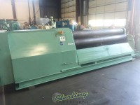 used roundo heavy duty 4 roll plate roll PASS-255