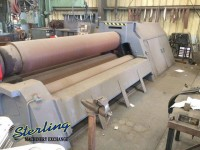 used malco 4 roll plate roll CLI HY 4R