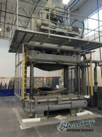 used grimco heated platen press 4 post hydraulic press