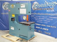 brand new doall (variable frequency ac inverter) vertical contour bandsaw 3613-V3