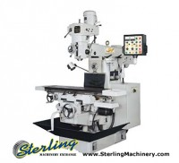 brand new acra vertical/horizontal milling machine
